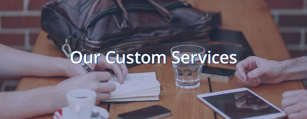 Our Custom Services | Charlton Insights