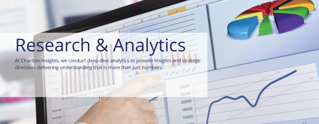 Strategic Insights, Research and Analytics: At Charlton Insights, we conduct deep-dive analytics to provide insights and strategic direction, delivering understanding that is more than just numbers.